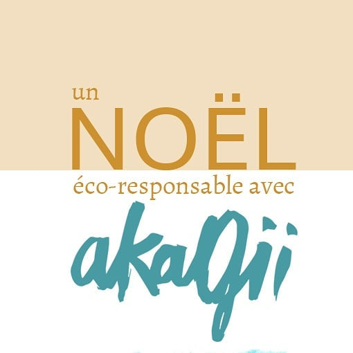 Un noël avec Akagii ! #ecologie #local #localsourcing #fournisseurslocaux #tissuslyonnais #modeethique #sustainability #greenfriday